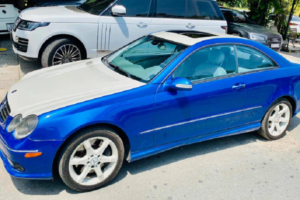 Can canh Mercedes-Benz CLK500 may V8 5.0L cuc hiem tai Viet Nam-Hinh-7