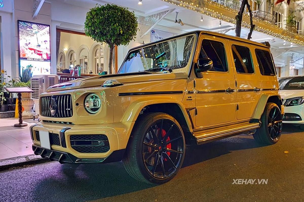 Sai Gon: Dien kien Mercedes-AMG G63 do TopCar cuc hiem-Hinh-4
