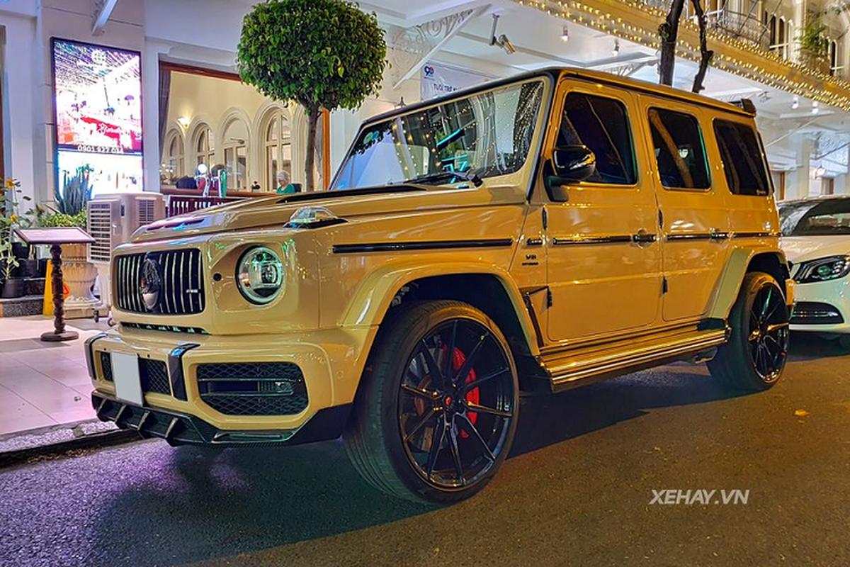 Sai Gon: Dien kien Mercedes-AMG G63 do TopCar cuc hiem