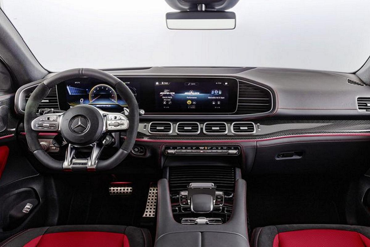 Mercedes-AMG GLE Coupe 2021 sap ve Viet Nam, khoang 5,5 ty dong-Hinh-4