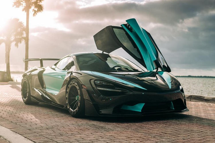 McLaren 720S than vo in 3D carbon dau tien, gia 12,6 ty dong