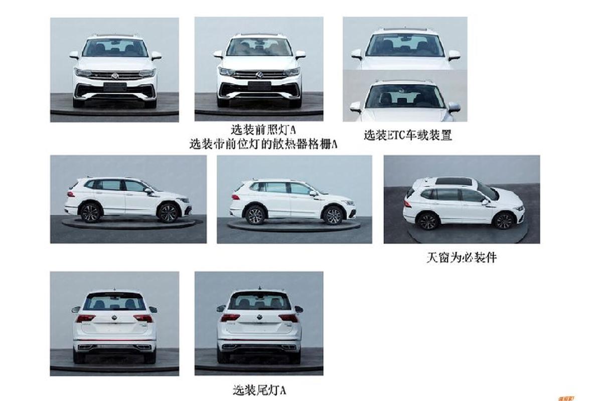 Volkswagen Tiguan Allspace 2021 co gi de