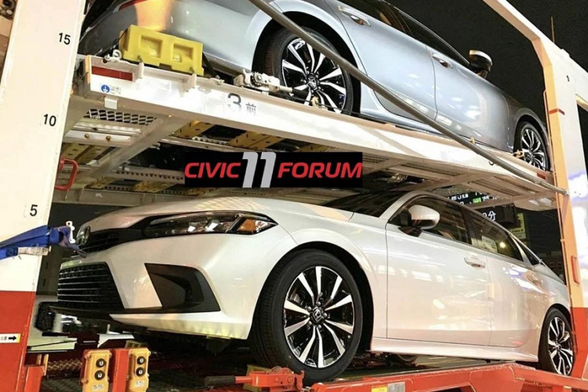 Honda Civic 2022 the he moi sap den tay nguoi dung