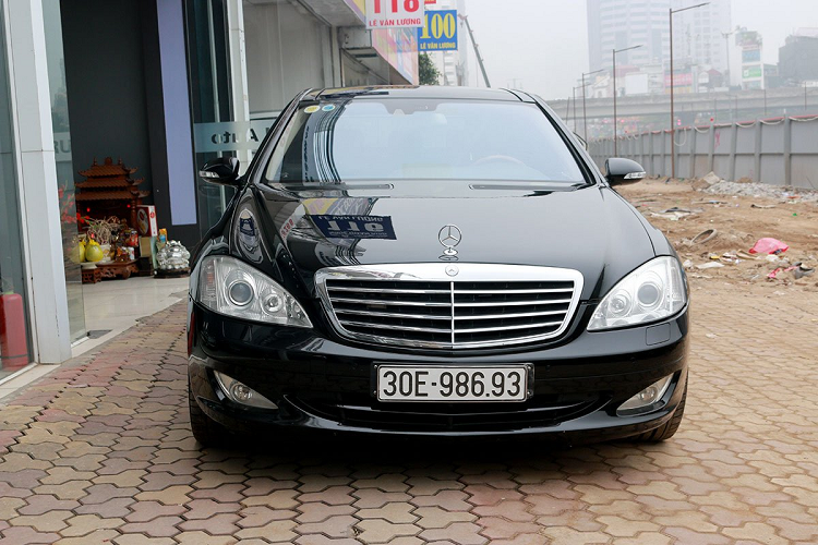 Mercedes Benz S550 2008 sold 900 million VND, with a new Lux A new-Hinh-10