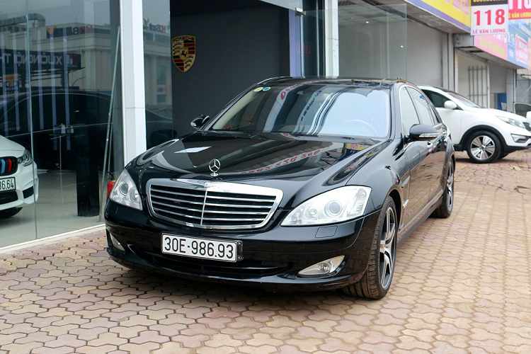 Mercedes Benz S550 2008 sold 900 million VND, with a new Lux A new-Hinh-11