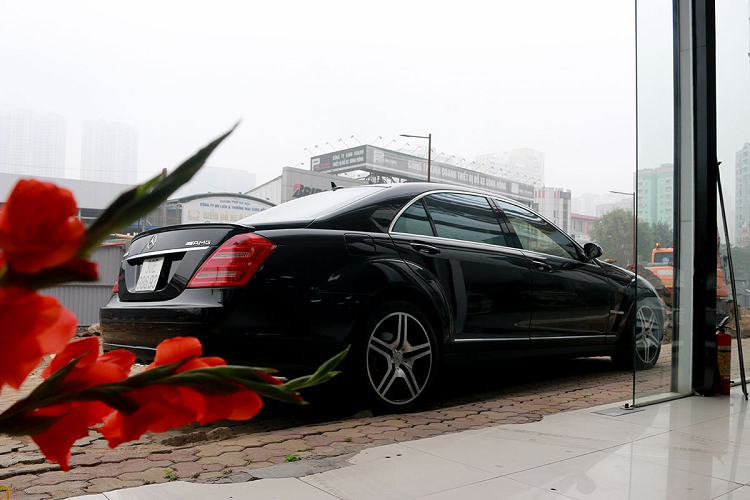 Mercedes Benz S550 2008 sold 900 million VND, with a new Lux A new-Hinh-2