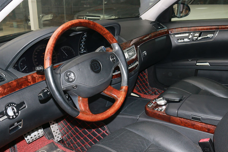 Mercedes Benz S550 2008 sold 900 million VND, with a new Lux A new-Hinh-3