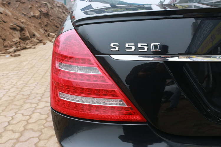 Mercedes Benz S550 2008 sold 900 million VND, with a new Lux A new-Hinh-9