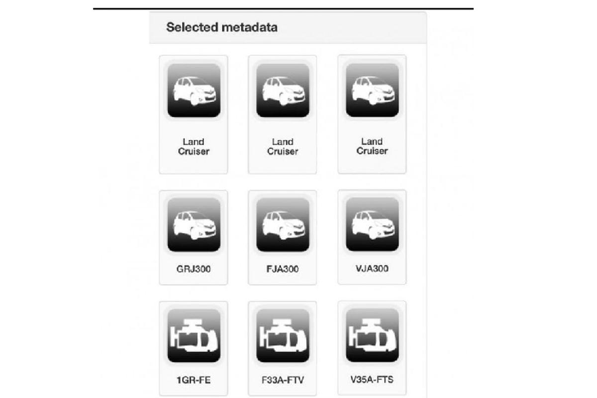 Toyota Land Cruiser the he moi se co 3 tuy chon dong co V6-Hinh-2