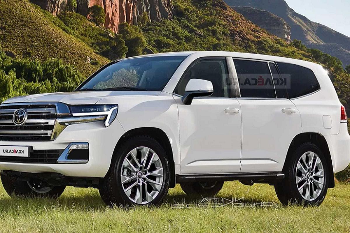 Toyota Land Cruiser the he moi se co 3 tuy chon dong co V6-Hinh-5