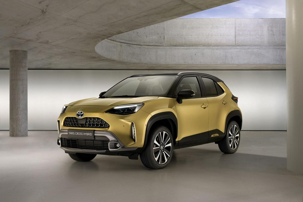 Chi tiet Toyota Yaris Cross Adventure 2021 vua ra mat
