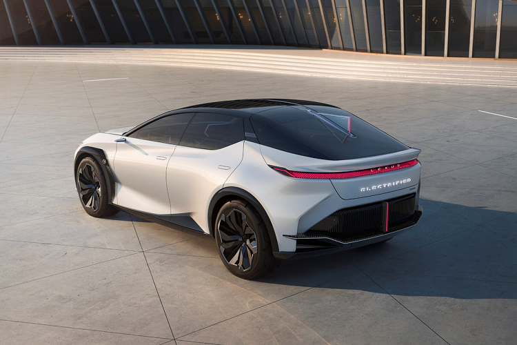 Three luxury cars to Audi, BMW and Lexus produce electric cars-Hinh-9