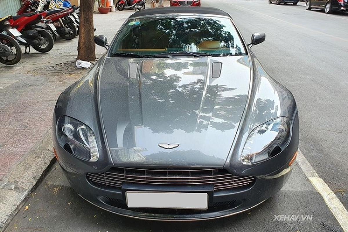 Sieu xe Aston Martin V8 Vantage Roadster