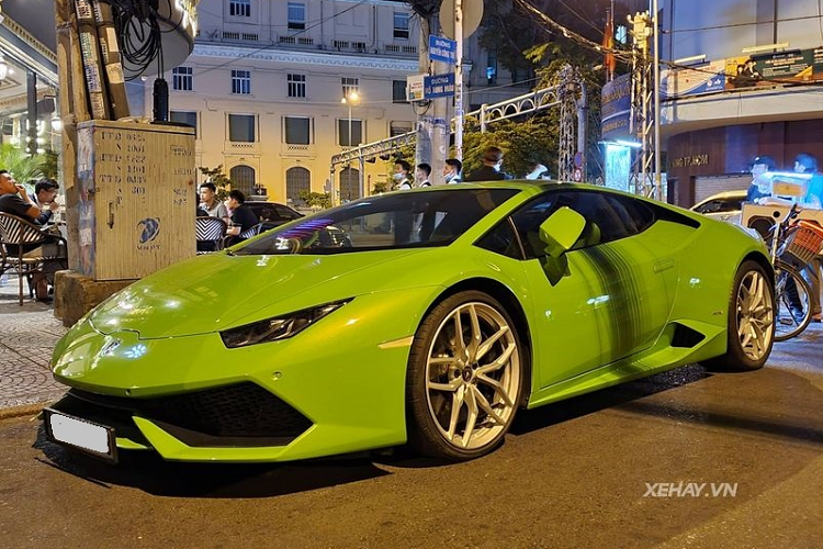 Ngam sieu xe Lamborghini Huracan hon 15 ty