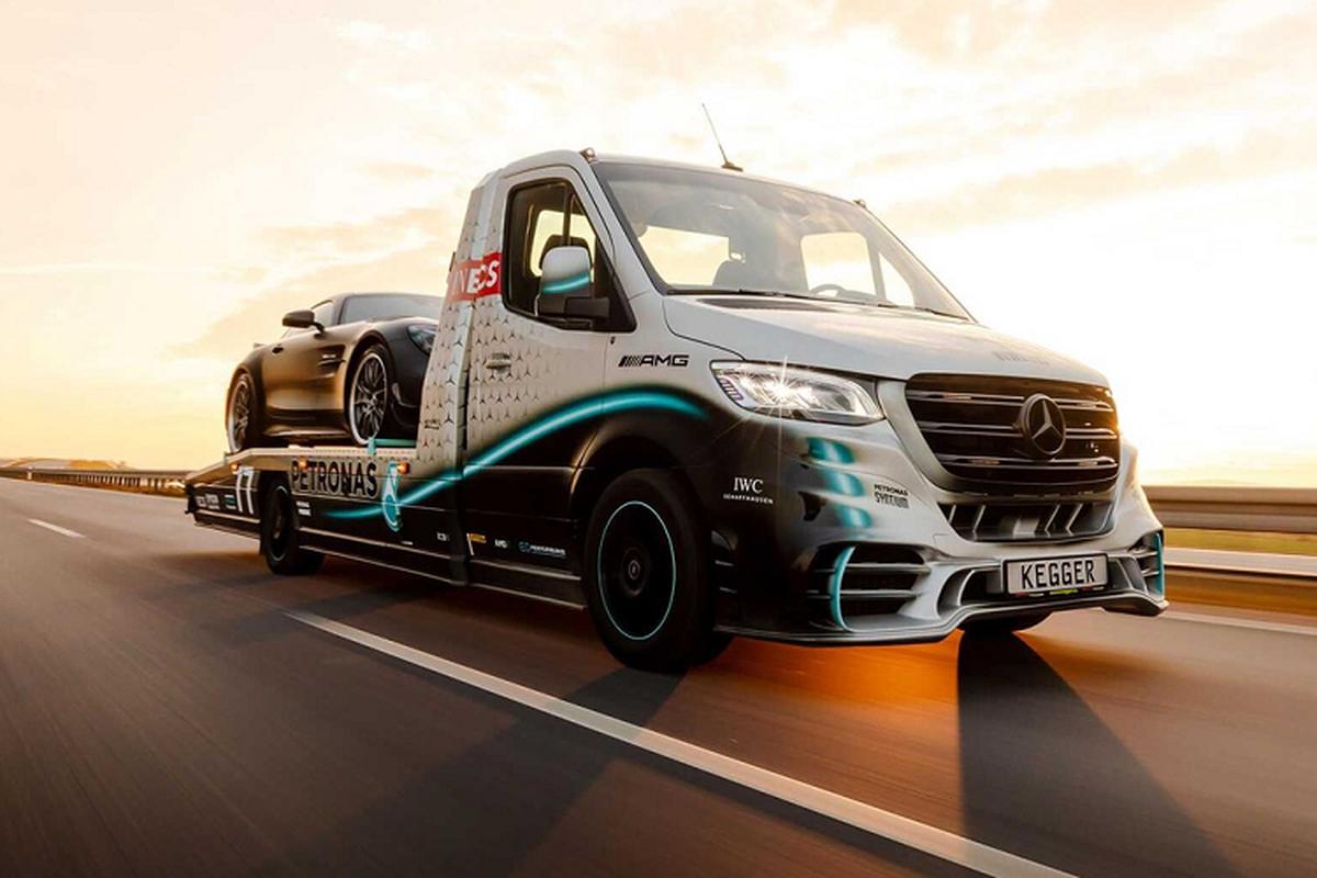 Mercedes-Benz Sprinte ban tai