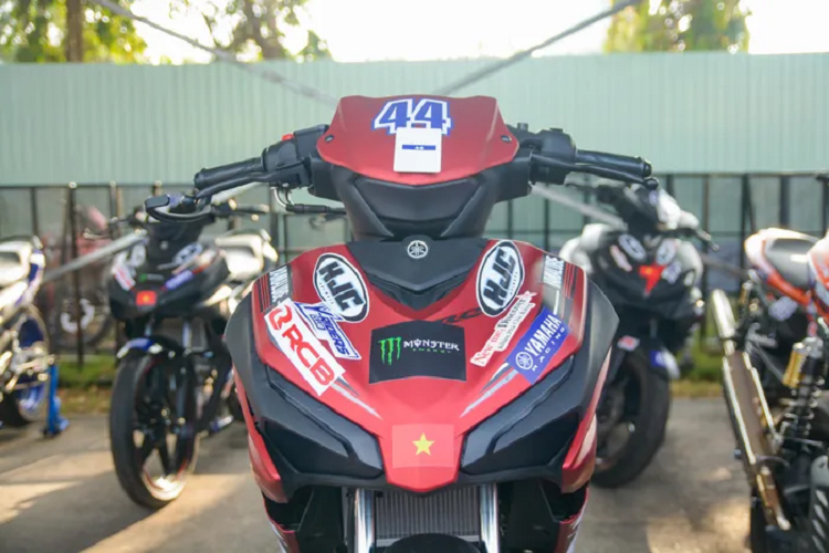 Details of the Yamaha Exciter 155 VVA sold the first motorcycle in Vietnam-Hinh-3