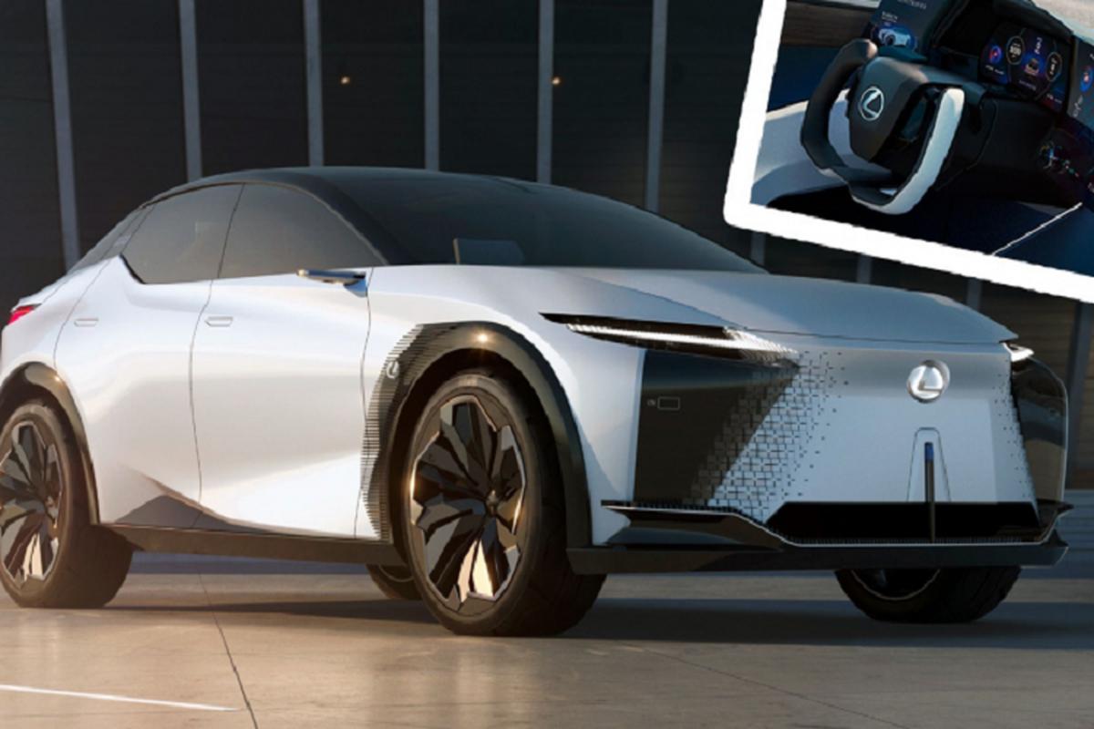 Lexus LF-Z Electrified chay dien - tuong lai cua Lexus