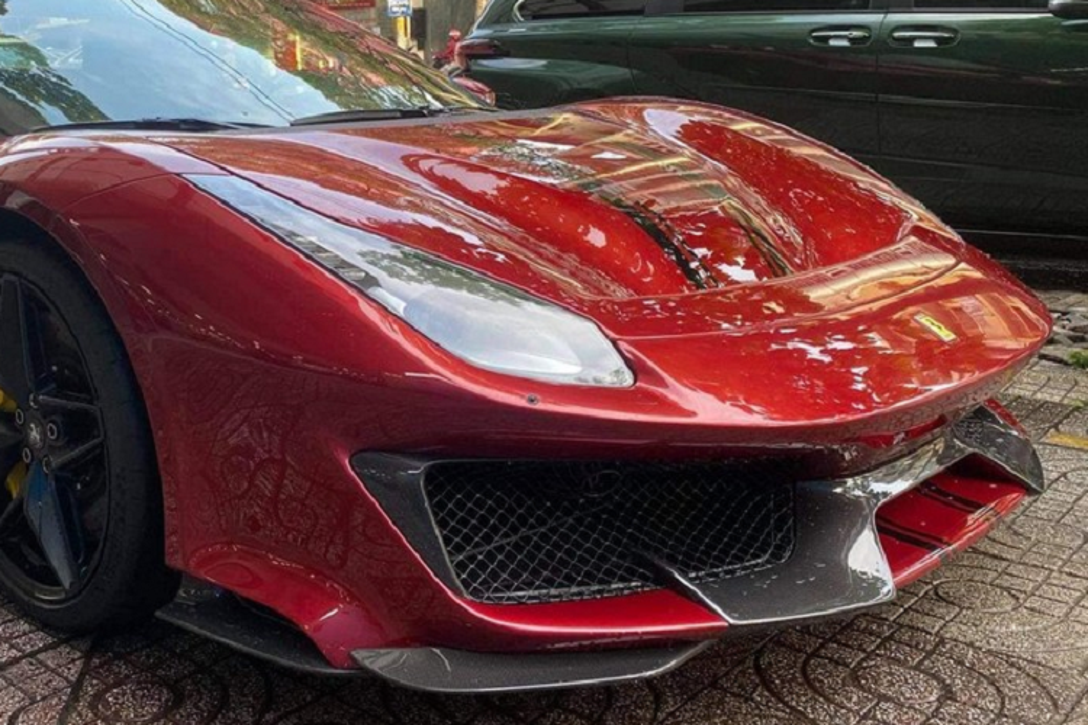 Ferrari 488 Pista Spider sold 2 to Vietnam, not less than 30 billion dong-Hinh-3