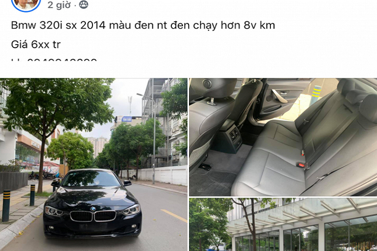Should you take a car to the BMW 320i 2014, more than 600 million in Vietnam? -Hinh-7