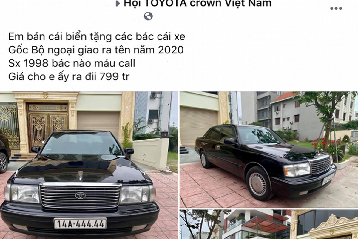 """""""Xe bo truong"""" Toyota Crown bien ngu quy gan 800 trieu o Quang Ninh-Hinh-10"""