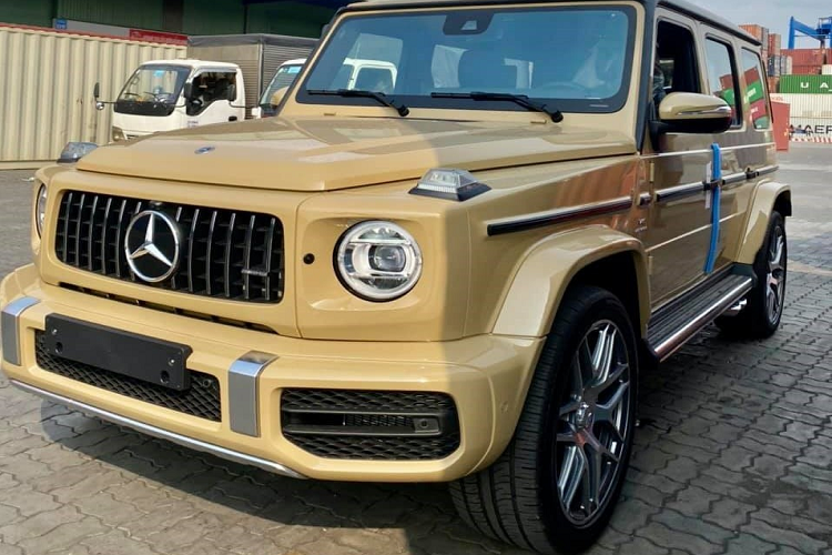 Mercedes-AMG G63 2021 color, more than 10 companies on Vietnam-Pictures-3