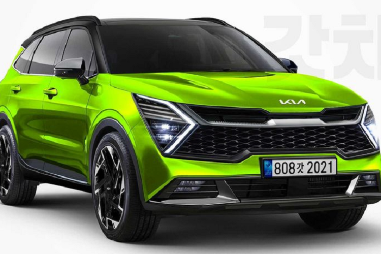 The Kia Sportage 2022 will have a new look,