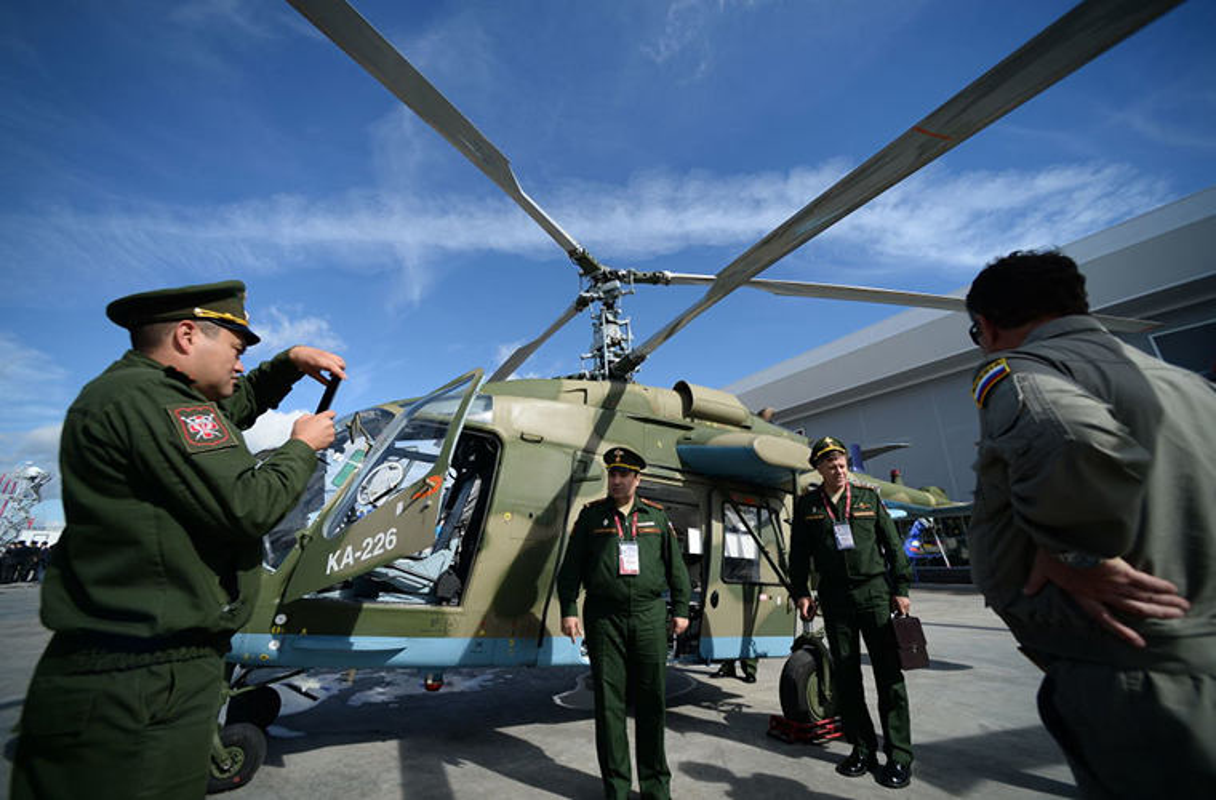 Loat anh tuyet dep, an tuong trien lam Army-2016 o Nga-Hinh-3