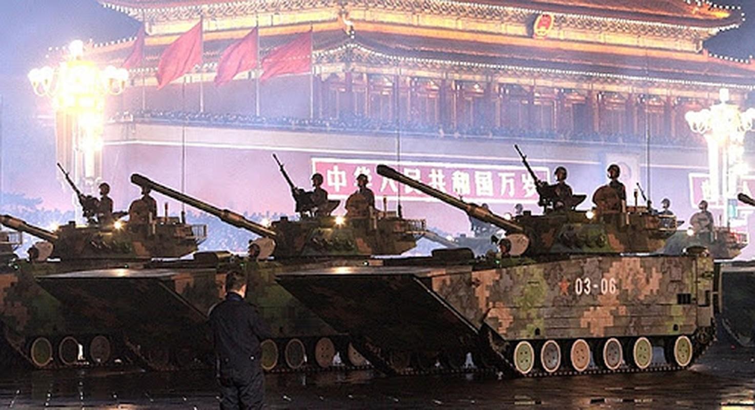 Tu huyet tren xe chien dau do bo Type 05 cua Trung Quoc
