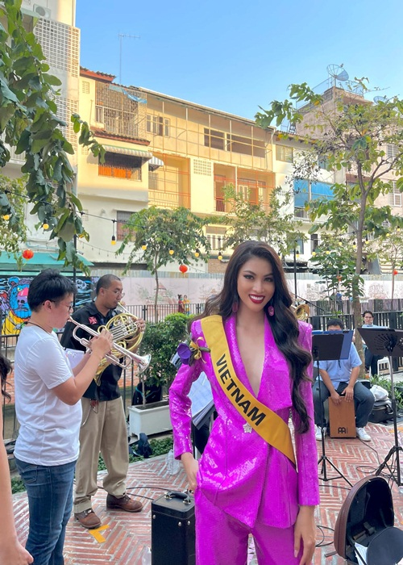Ngoc Thao lot top 20 trinh dien ao tam tai Miss Grand International-Hinh-7
