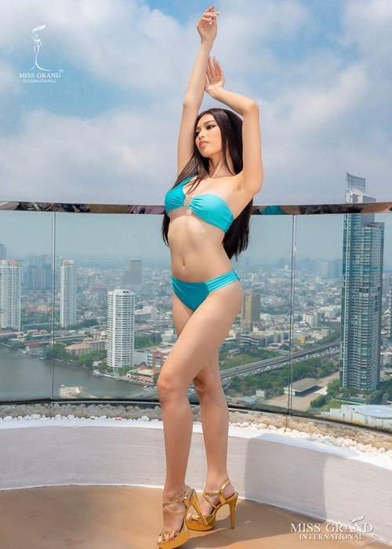 Ngoc Thao lot top 20 trinh dien ao tam tai Miss Grand International