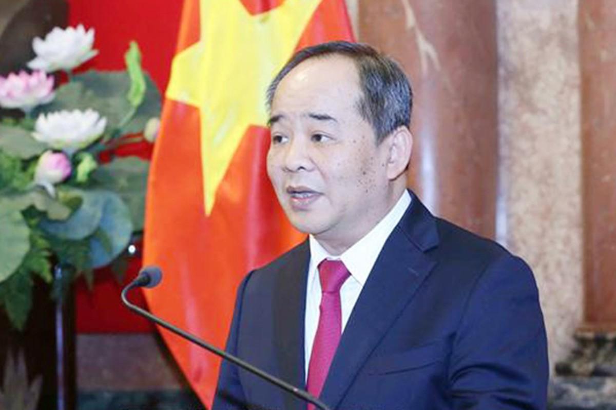 Chan dung ong Le Khanh Hai, tan Chu nhiem Van phong Chu tich nuoc