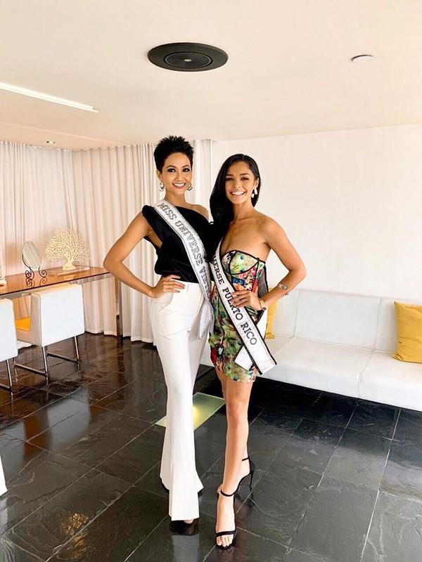 Nhung trang phuc gay an tuong cua Hoa hau H'Hen Nie tai Miss Universe 2018-Hinh-6