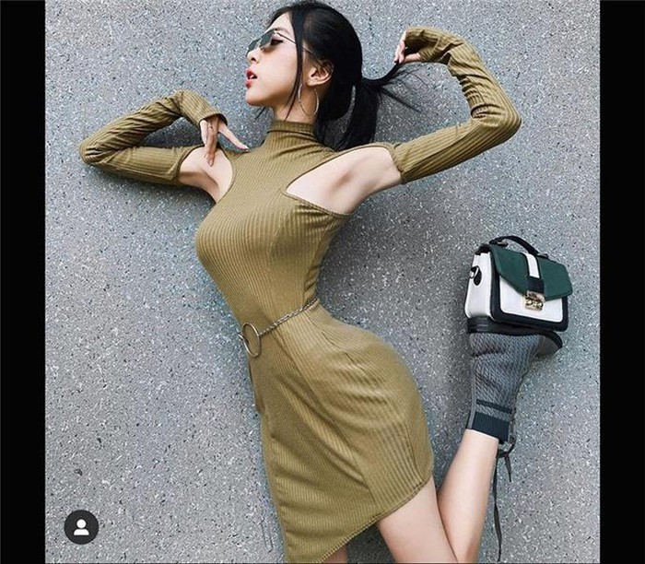Gu thoi trang sexy khoe vong eo nho kho tin chi 52cm cua co gai Sai thanh-Hinh-12