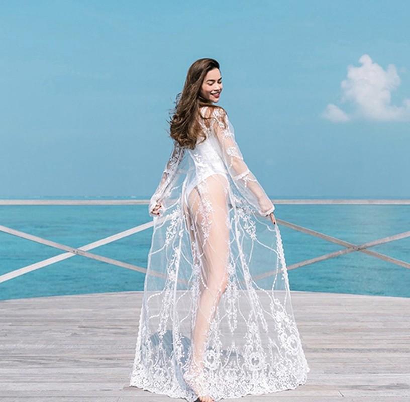 Hoc sao Viet mix ao choang cung bikini di bien vua sexy vua sang chanh-Hinh-2