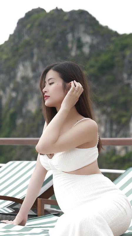 Thoi trang sanh dieu khoe bung bau vuot mat cua vo Cuong Do la, Dong Nhi-Hinh-6