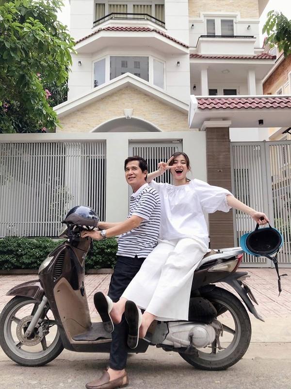 Thoi trang sanh dieu khoe bung bau vuot mat cua vo Cuong Do la, Dong Nhi-Hinh-9