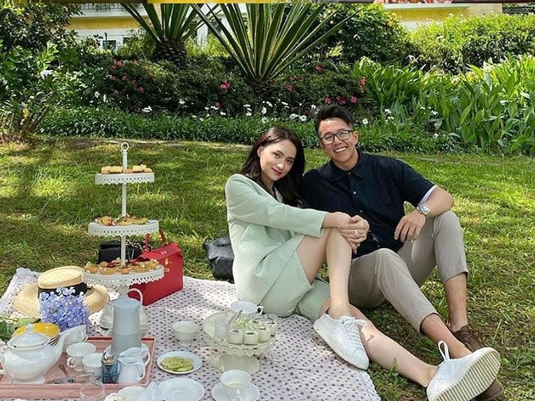 Ban trai doanh nhan cua hoa hau Huong Giang an mac cuc gian di