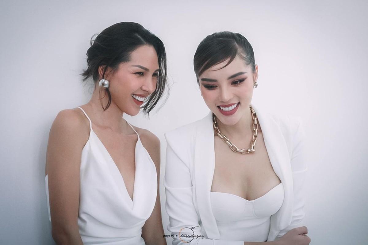 """Ky Duyen-Minh Trieu va nhung lan dien do ton sur ton """"chat ngat""""-Hinh-7"""