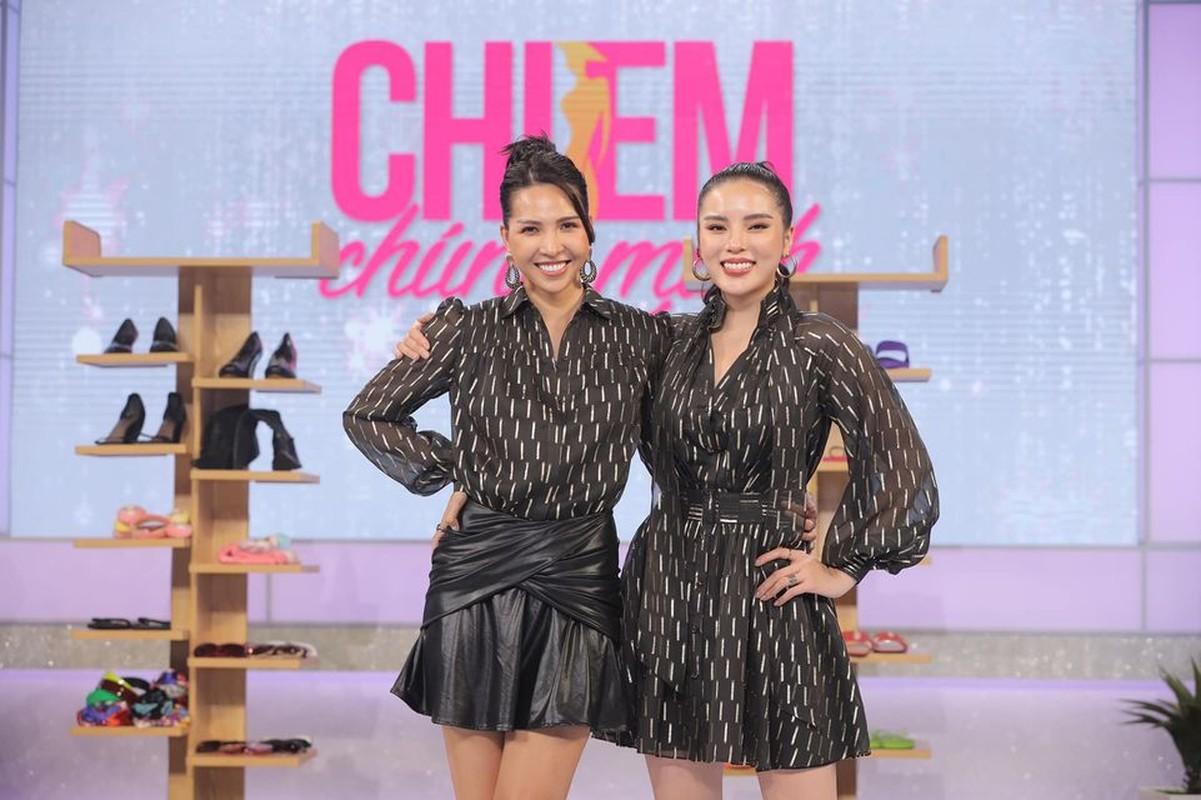 "Ky Duyen-Minh Trieu va nhung lan dien do ton sur ton ""chat ngat"""