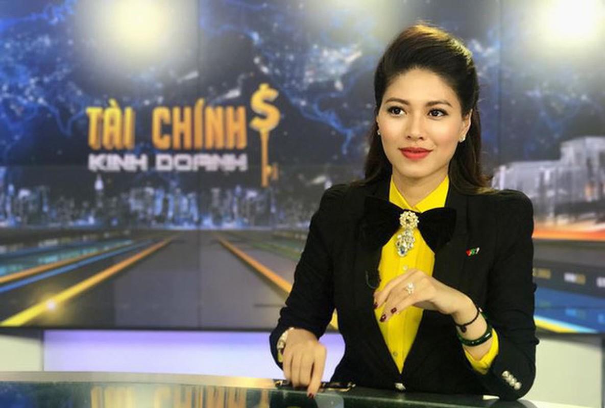 Gu thoi trang sang chanh, sanh dieu cua BTV Ngoc Trinh dai VTV