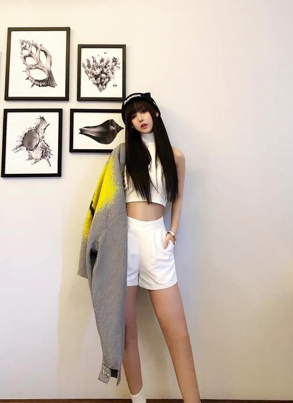 Ban gai hotgirl cua rapper Karik xinh nhu bup be, an mac sanh dieu-Hinh-4