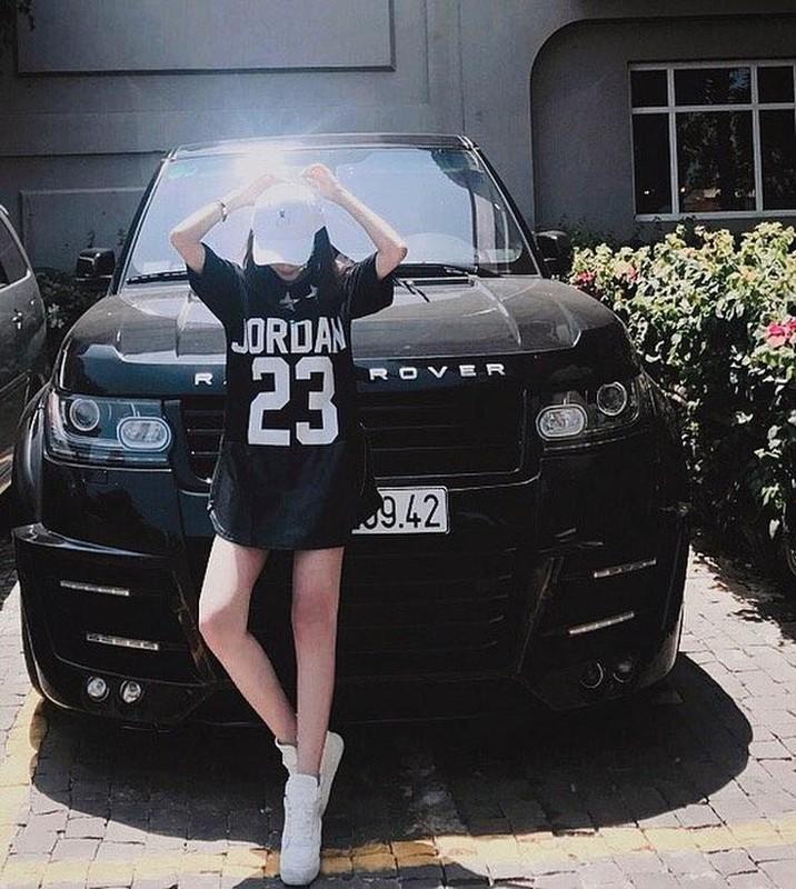 Ban gai hotgirl cua rapper Karik xinh nhu bup be, an mac sanh dieu-Hinh-9