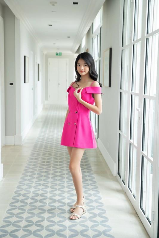 12 tuoi, con gai Truong Ngoc Anh cuc xinh va thich an mac nu tinh-Hinh-8