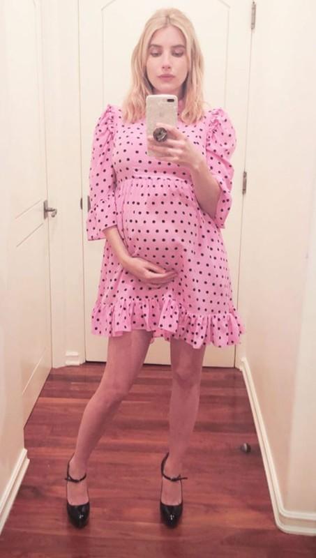 Gu thoi trang bau cuc sanh dieu cua my nhan Hollywood Emma Roberts-Hinh-5