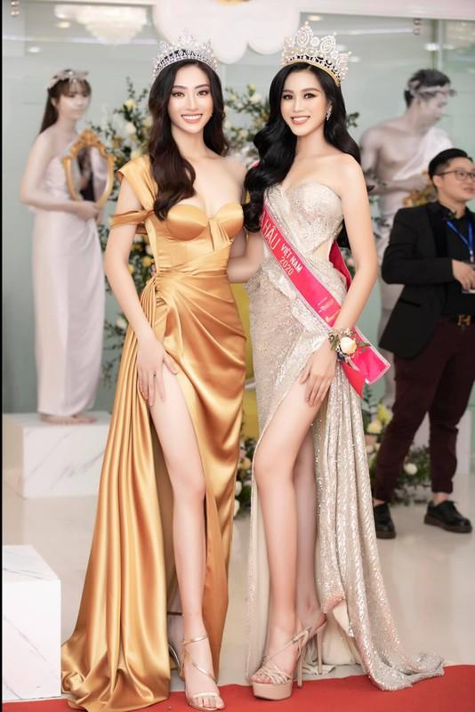 Trang phuc xe bao khoe doi chan 1m22 cua hoa hau Luong Thuy Linh-Hinh-3