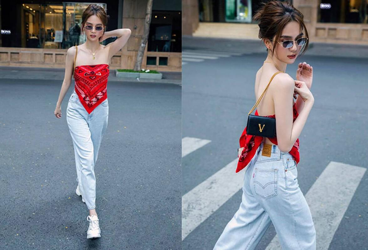 Luong Thuy Linh va cac my nhan Viet quan khan lam ao vay cuc sexy-Hinh-10