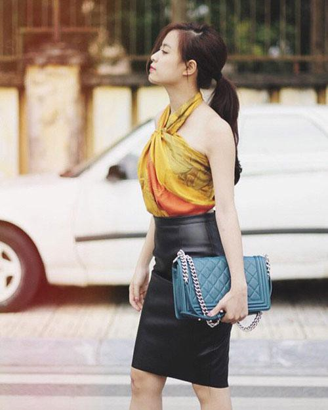 Luong Thuy Linh va cac my nhan Viet quan khan lam ao vay cuc sexy-Hinh-11