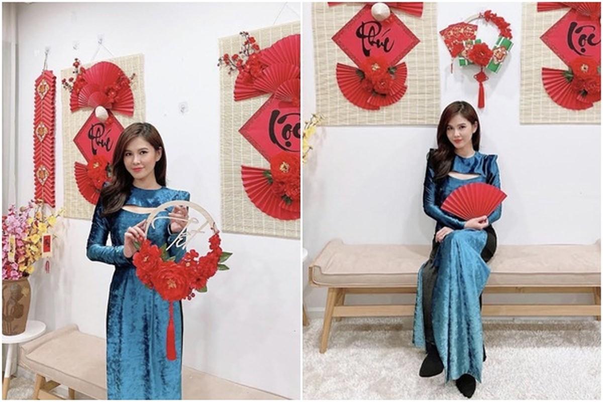 My nhan Viet thi nhau dien ao dai khoe dang dip can Tet-Hinh-11