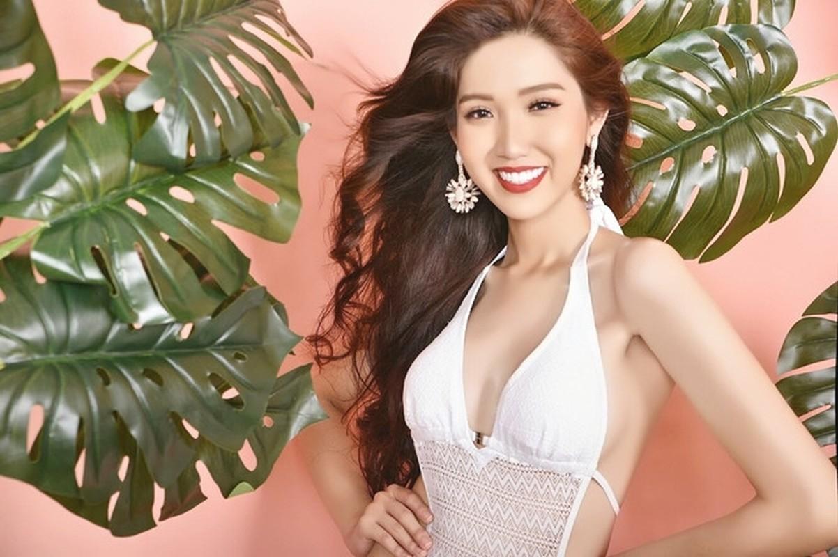Do Nhat Ha thi Miss Universe Viet Nam, giu eo thon dang nuot the nao?