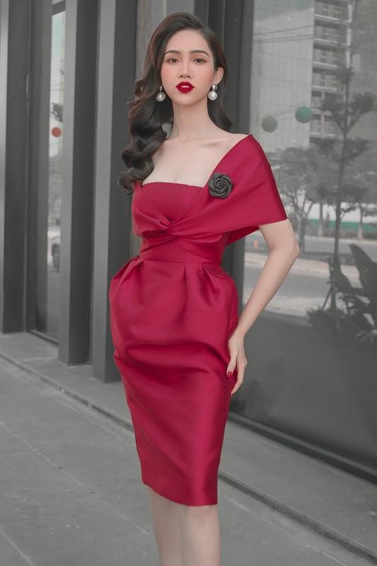 Do Nhat Ha thi Miss Universe Viet Nam, giu eo thon dang nuot the nao?-Hinh-3
